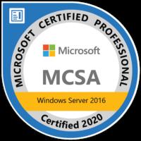 MCSA Zertifiziert